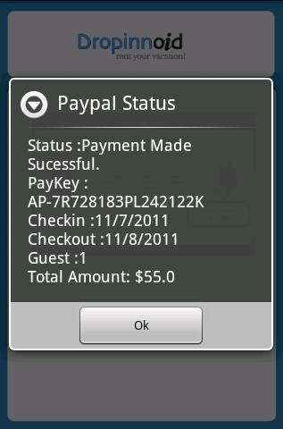 Paypal-status