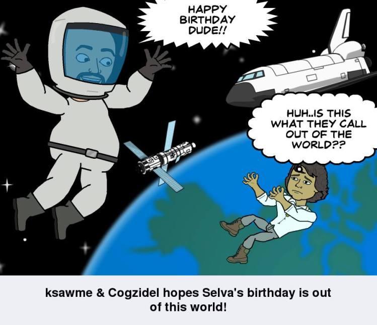 Happy birthday Selva :)