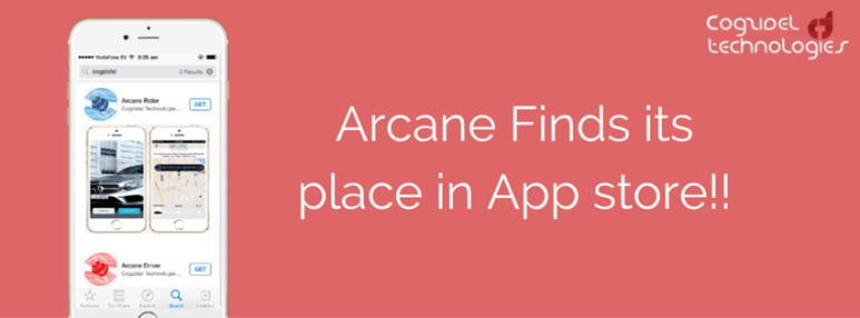 Arcane Finds its place in App store!!-min